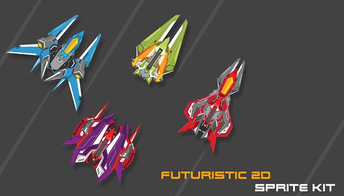 Futuristic 2D Sprites Kit
