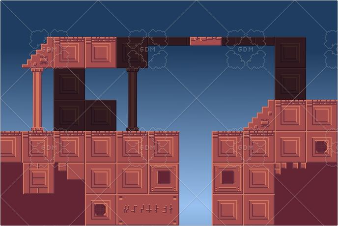 Platform tiles egypt