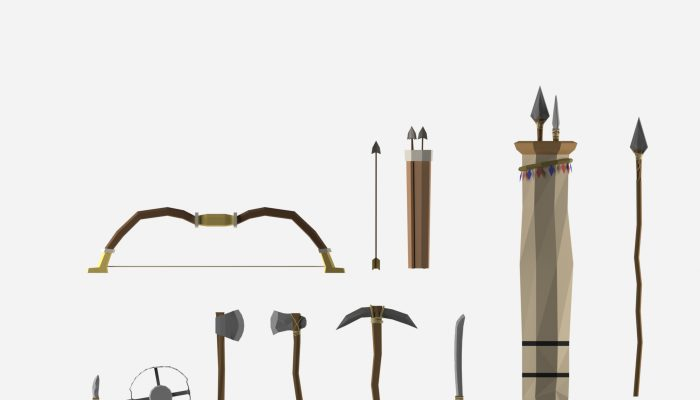 Low Poly Weapon Pack