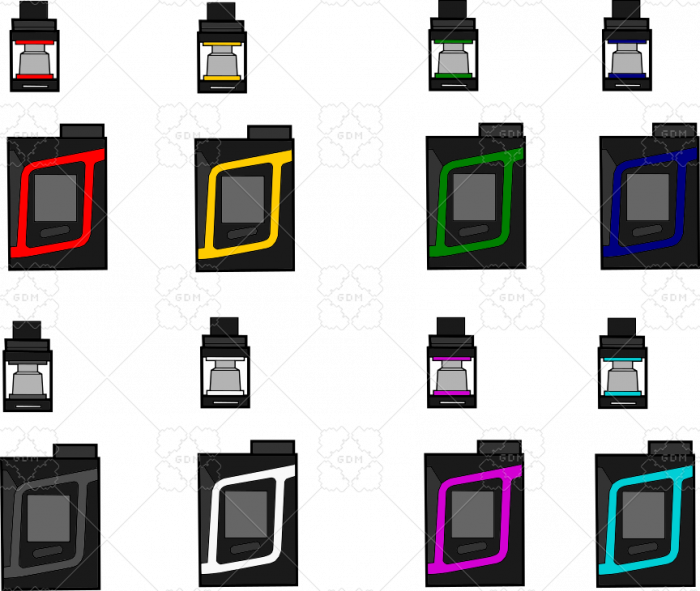Vape 85W 8 colors
