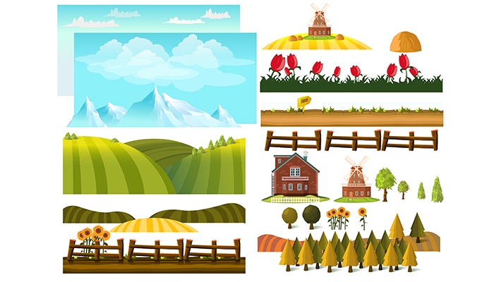 Farm Landscape Creator