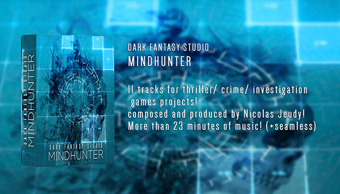 Dark Fantasy Studio- Mindhunter (thriller investigation music)