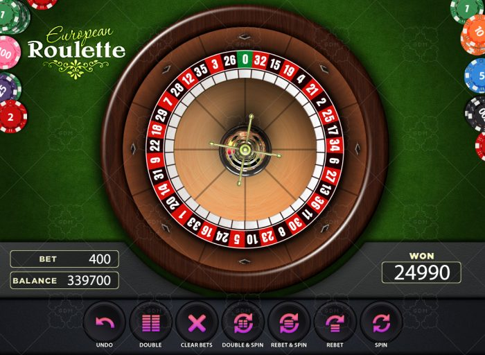 Roulette Graphics Game KIT
