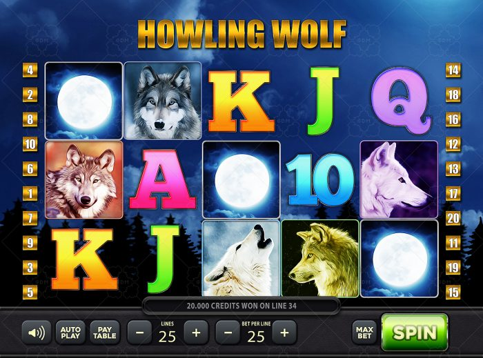 Howling Wolf Slots Game KIT