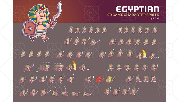 EGYPTIAN SPRITE