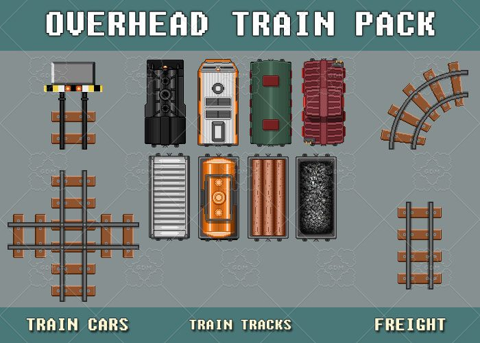 Overhead Train Pack