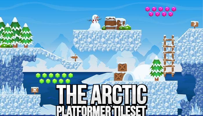 The Arctic – Platformer Tileset