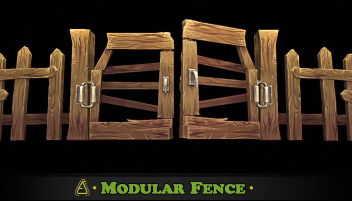 Fantasy Modular Fence