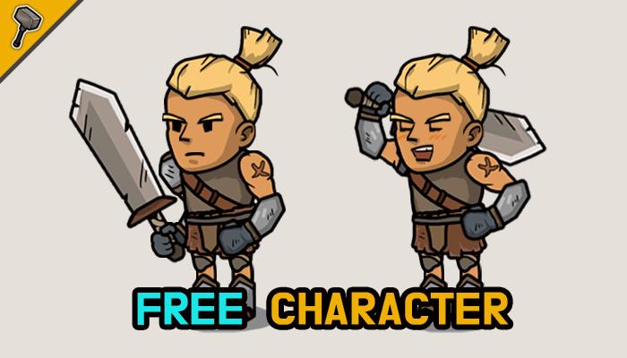 Fantasy 2D Character: Free