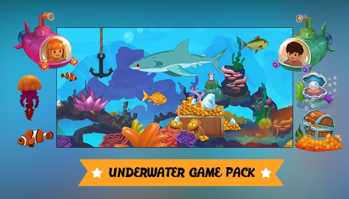 Underwater Game pack