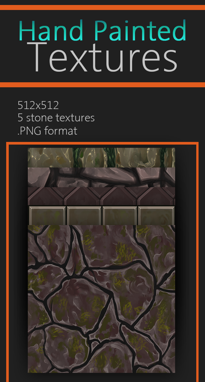 Hand Painted Stone Texture Pack