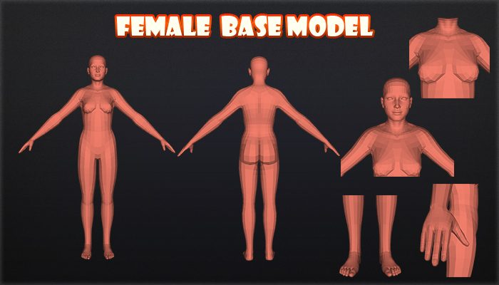 Female base model