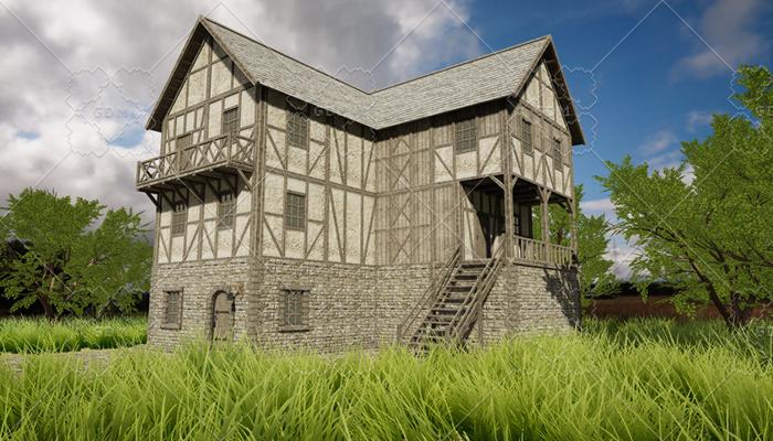 HQ Modular Fantasy House