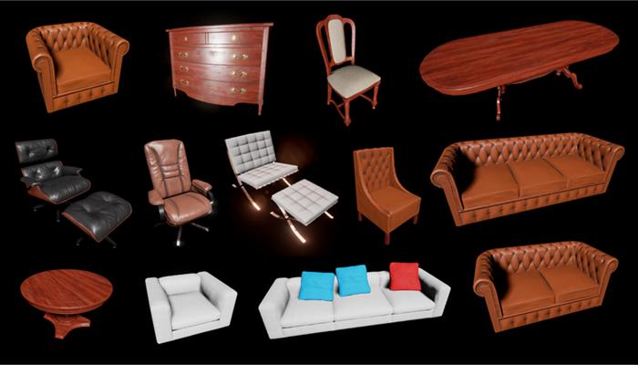 HQ Furniture Pack