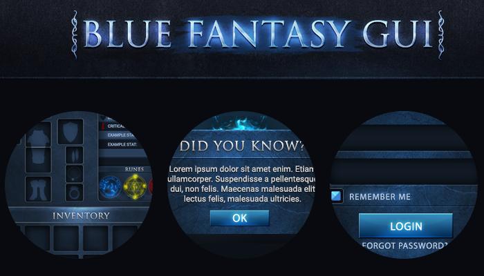 BLUE FANTASY GUI