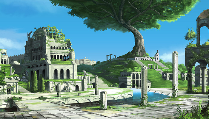Ancient City – High Quality Parallax Background