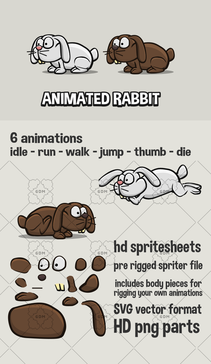 Animated rabbit