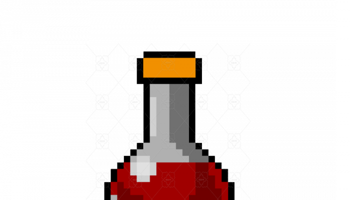 Voxel health potion