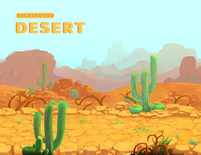 Desert tileable – Game Background