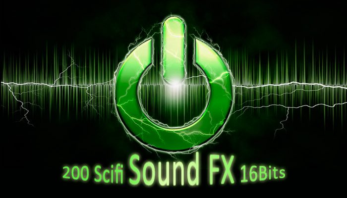 200 Scifi Sound FX 16bits