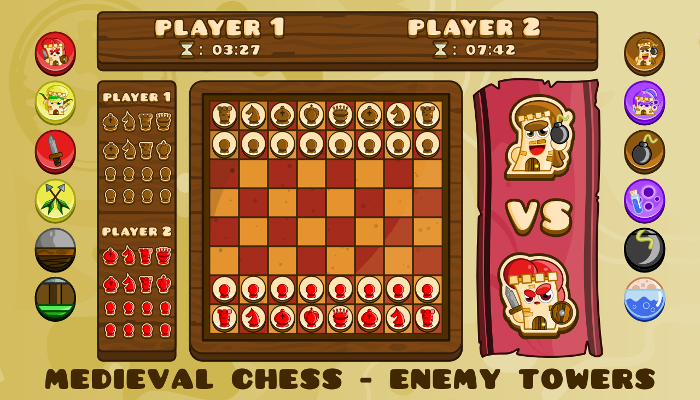Medieval Chess – Enemy Towers
