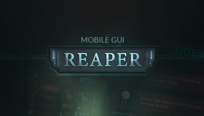 Reaper Mobile GUI