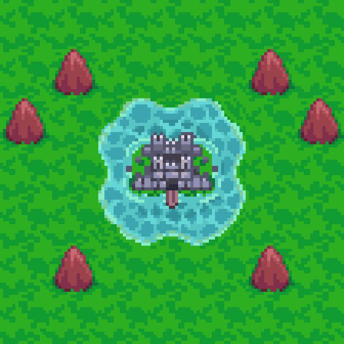 RPG Overworld Castles