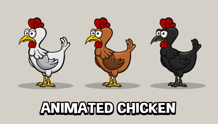 Animated chicken