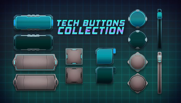 Tech Button Collection