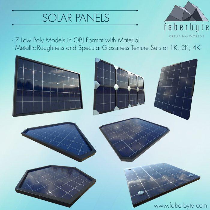 Solar Panel Set vol. 1