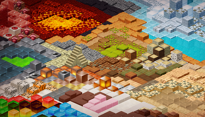 2D Tiles – Isometric Tileset Pack