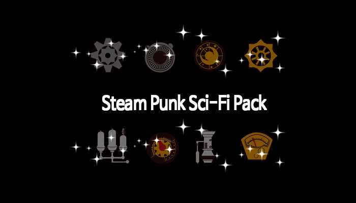 Steam Punk Sci-Fi Pack