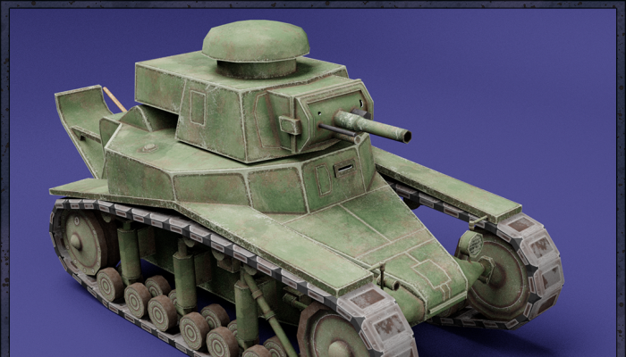 MC-1 USSR Toon Tank -Big-