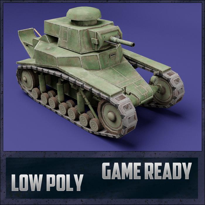 MC-1 USSR Toon Tank -Big-