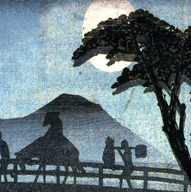 Animated Background (Hiroshige Bridge)