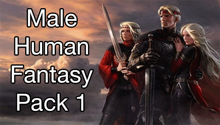 Human Male Fantasy Pack 1