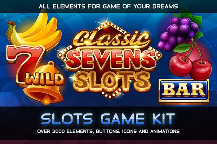 Classic Sevens Slots game KIT