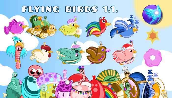 Cool Flying Birds Art Starter Pack