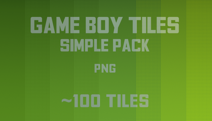 Simple Game Boy tiles