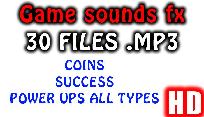 COINS,SUCCESS(stars123), POWER UP SOUND FX HD Quality