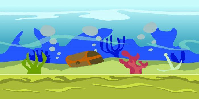 Background Game Sea Parallax