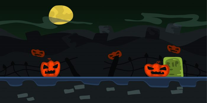 Background Game Halloween Parallax