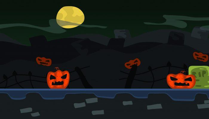 Background Game Halloween Parallax
