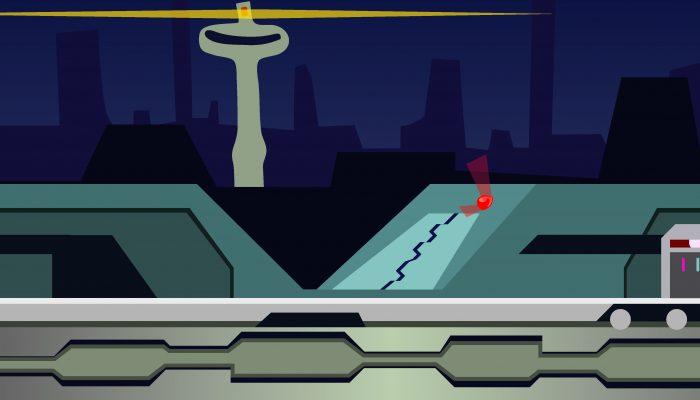 Background Game Future City Parallax
