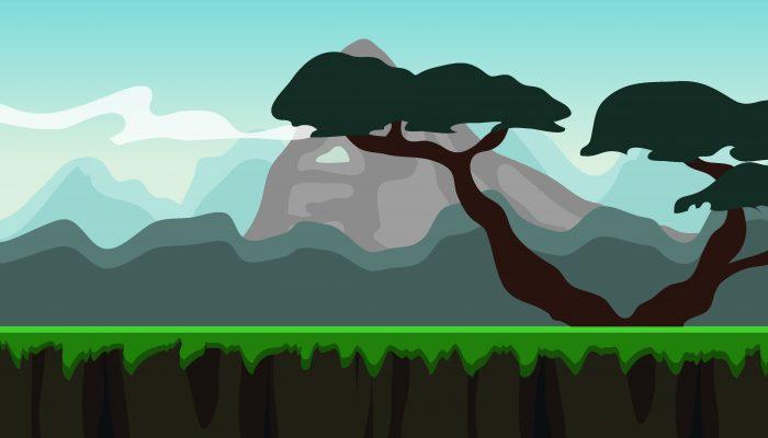 Background Game Safari Parallax