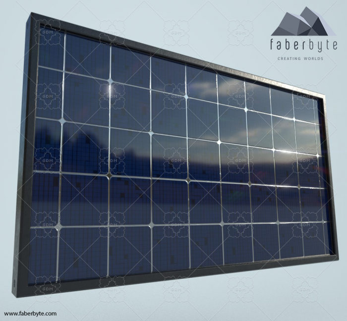 Standard Photovoltaic Panel