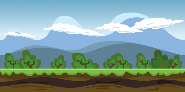 Background Game Nature Parallax