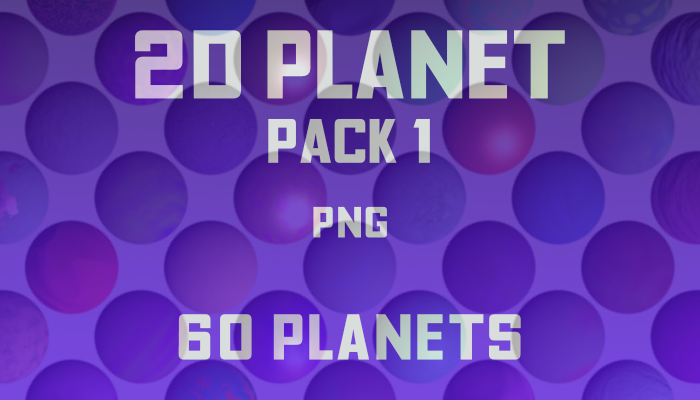 2D Planet pack 1