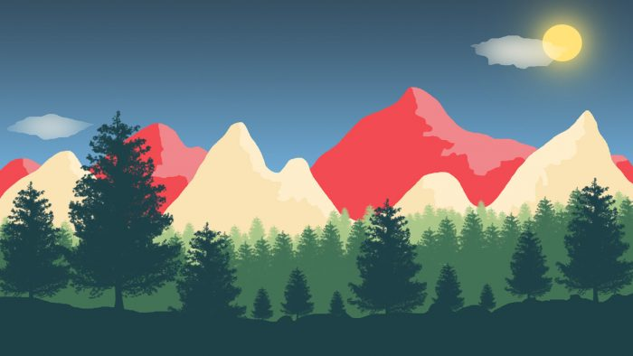 Background for 2D game