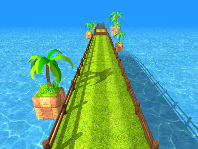 Endless Runner/ Racing Game Scene